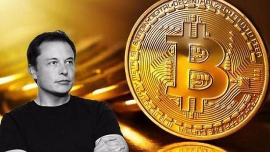 """特斯拉CEO马斯克Twitter账号简介变成了""""bitcoin"""""""