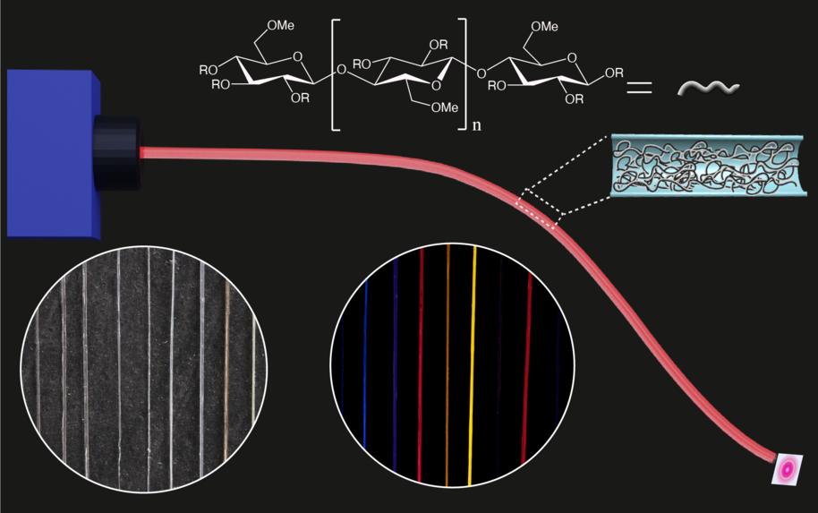 研究发现 甲基纤维素可制成可持续性光纤