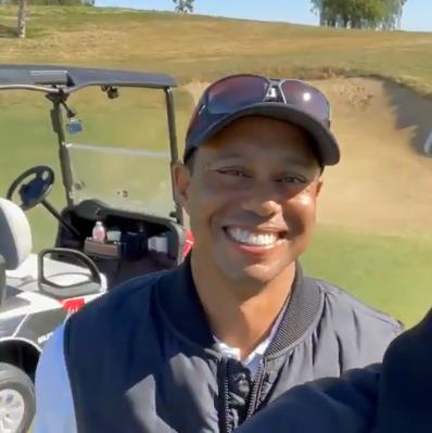 高尔夫球名将泰格伍兹发生车祸 现场视频曝光