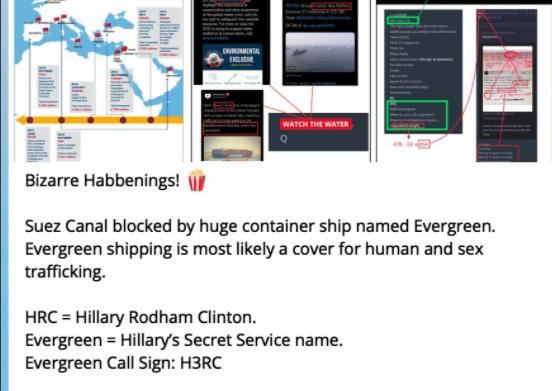 堵住苏伊士运河的中国台湾货轮,背后是一个关于中美的巨大阴谋?