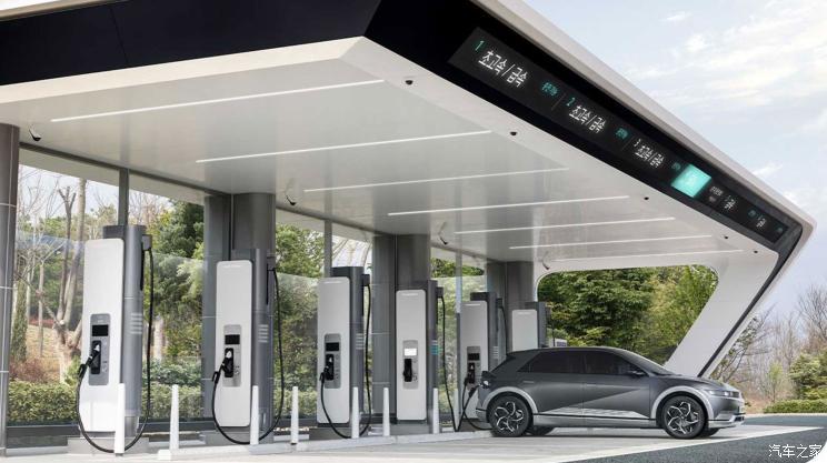 现代汽车将在韩国铺开超级充电站网络