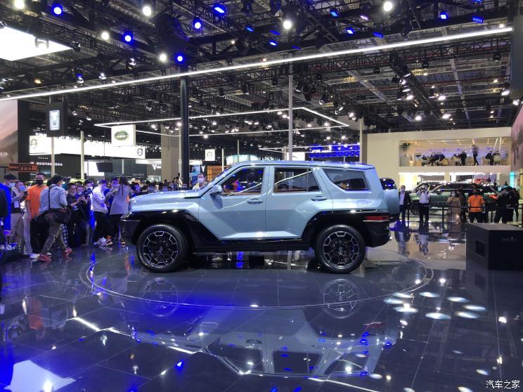 2021上海车展:全新SUV坦克700正式发布