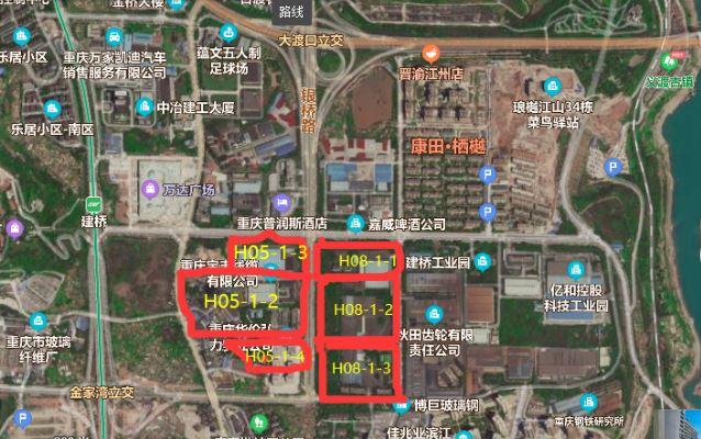 龙湖30亿元摘得大渡口317亩地块 楼面价7311元/�O