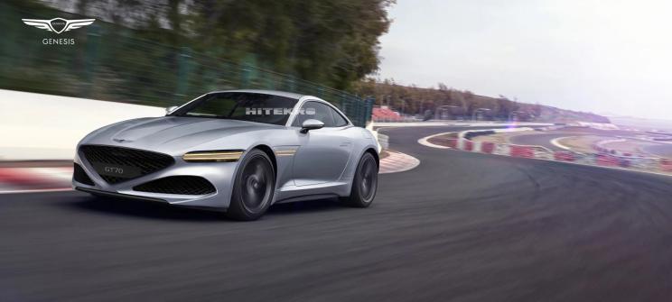 双门跑车 捷尼赛思GT70 Coupe假想图