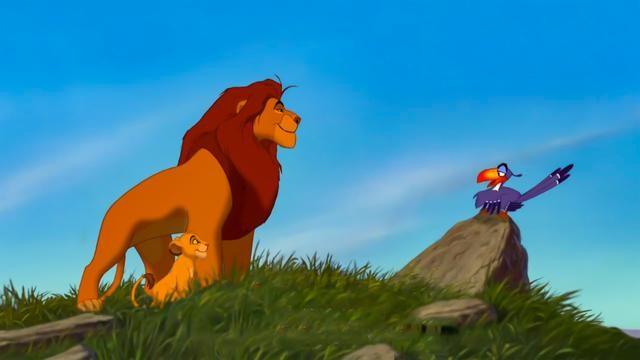 辛巴狮子王 欲戴王冠,必承其重