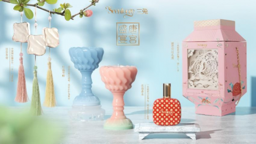 Scentooze三兔国风唐宫盛宴系列于天猫国风大赏首度亮相