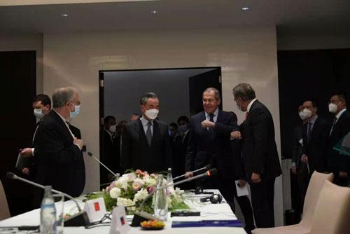 阿富汗问题四国外长非正式会议举行,赵立坚:会晤各方强调美国及其盟友负有主要责任