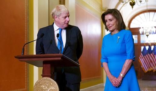 美媒:英国首相约翰逊乘参加联大在美国活动 赴众议院会见民主党议长佩洛西