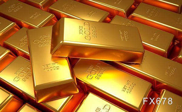 黄金交易提醒:美债收益率大涨重创金价,后市料易跌难涨