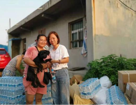 河南洪灾后,还有很多生命等待救援,科养生物携温礼品牌直达救援