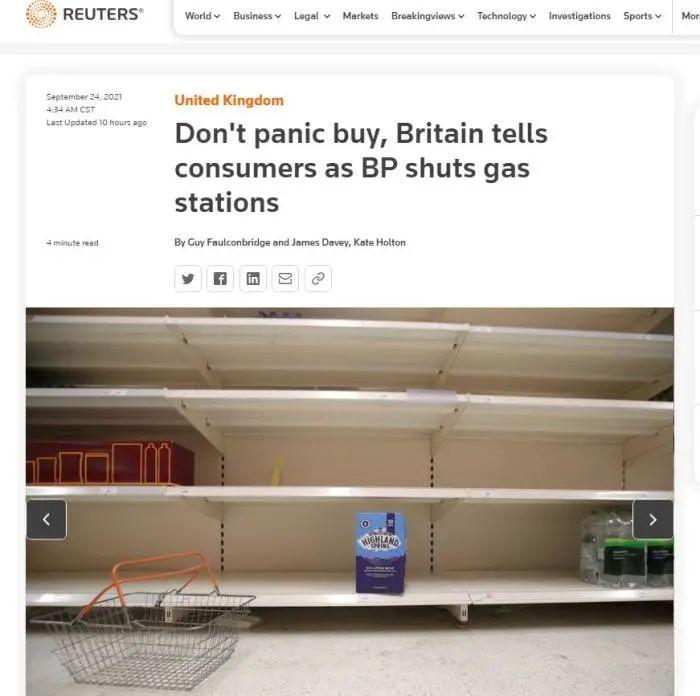 美国人恐慌抢购,超市卫生纸、瓶装水都限购了,咋回事?